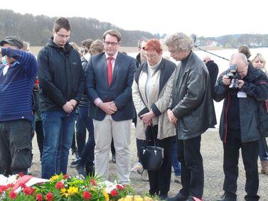 René Jordan, Mario Gruschinske, Andrea Suhr und Reimund Alheit. (v.l.n.r.)